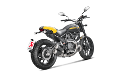 AKRAPOVIC S-D8SO3-HCUBTBL Выхлопная система Slip-On Line (Titanium) Ducati Scrambler Icon/Urban Enduro 2015-16